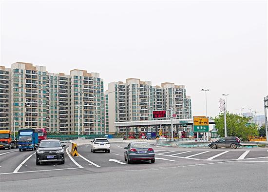 虎门二桥接驳通道建设已趋于完善